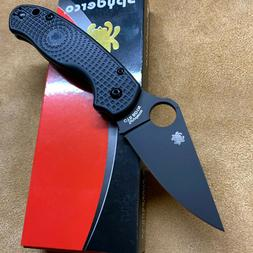Spyderco Para 3 Light Weight C223PBBK Compression Lock Knife