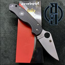 Spyderco Para 3 Light Weight C223PBK Compression Lock Knife
