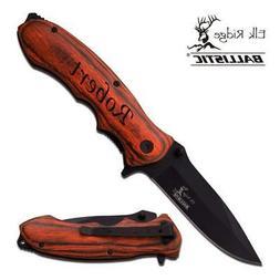 Personalized Free Engraving MTECH-USA Quality Pakkawood Hand