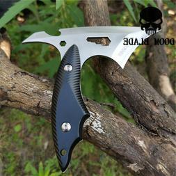 Pocket Karambit Tool Fixed Blade Knife Camping Hunting Survi