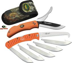 Outdoor Edge Razor-Pro/Saw Combo Folding Knife Box , Orange