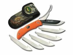 Outdoor Edge Cutlery Corp RO-20C Razor-Pro 6 Blades - Orange