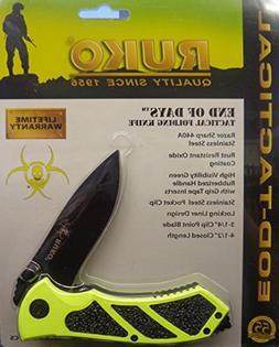 """Ruko RUK0061HG-CS, 440A, 3-1/4"""" Folding Blade Hunting Knife,"""