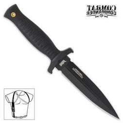 United Cutlery AUS-8 Combat Commander Dagger Knife w/ Black