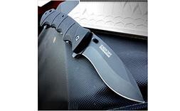 TAC FORCE Spring Assisted Opening BLACK TACTICAL Pocket Knif