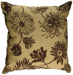 Codson Park Outdoor Square Pillow, 16-Inch, Maystone Java Kn