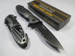 TAC Force Assisted Opening Sawback Bowie Rescue High Carbon