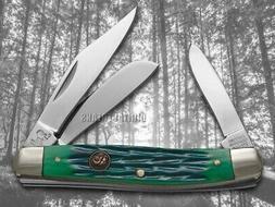 Hen & Rooster Stockman Green Bone Knife 273-GPB