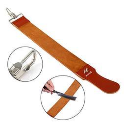 Straight Razor Strops,Genuine Leather Strop Strap Barber Str