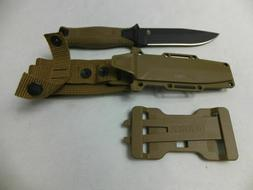 Gerber StrongArm Fixed Blade Knife, Fine Edge, Coyote Brown