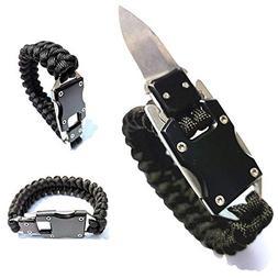 WEREWOLVES Survival Bracelet Multitool EDC Tactical 7 Core P