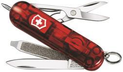 Victorinox Swiss Army Signature Lite Pocket Knife, Ruby