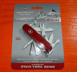 Victorinox Swiss Army Super Tinker Knife Stainless Steel 14