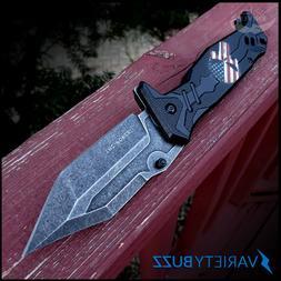TAC FORCE SPRING POCKET KNIFE Tactical Folding Punisher Assi
