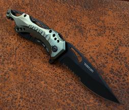 TAC-Force Spring Assisted Tactical Folding Pocket Knife - Bl