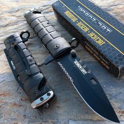 TAC FORCE Spring Open Knife Tactical Rescue Speedster foldin