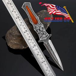 Tactical Folding Pocket Knife Camping Survival Hunting Knive