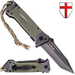 Grand Way Tactical Knife - Pocket Folding Knives Stainless S