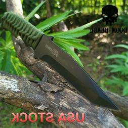 Tactical Knife Outdoor Army Hunting EDC Tools Survival Rescu