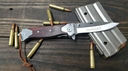 Browning Tactical Pocket Knife Spring Assisted Opening Large