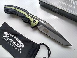 Tanto Pocket Knife Star Wars Jedi Style Fighter Jet Green Gl