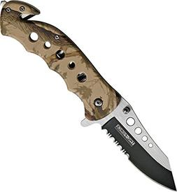 TAC Force TF-498BC Spring Assist Folding Knife, Two-Tone Hal