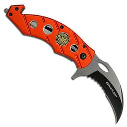 Tac Force TF-516F Tactical Assisted Opening Folding Knife 4.