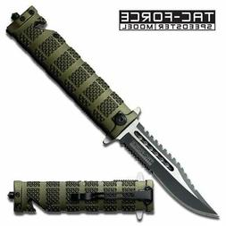 TAC Force TF-710DW Liner Lock Assisted Opening Folding Knife
