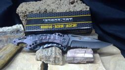 """TAC Force TF-705FC Tactical Spring Assisted Knife 4.5"""" Close"""
