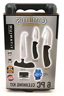Camillus Titanium 6-Piece Hunter39;s Game Cleaning Kit