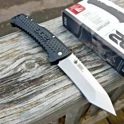 "SOG Traction Lockback Folding Knife 3.5"" 5Cr13MoV Steel Blad"