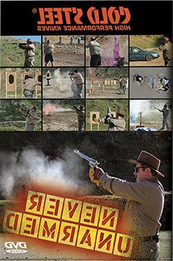 Cold Steel VDNU Training DVD, Never Unarmed DVD