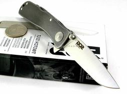 SOG Twitch II LT Flipper Assisted Opening Stonewashed Hdl Kn