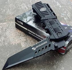 U.S. MARINES Knife Licensed USMC MARINES Assisted Military K