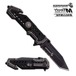usmc marine folding pocket knife