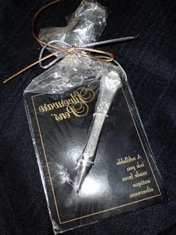 vintage silverware knife handle pen ballpoint refillable
