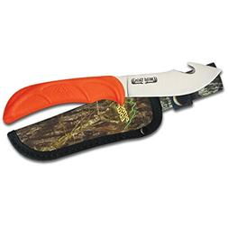 Wild Skin 3 7/8 Stainless Guthook Blade with Tpr Handle