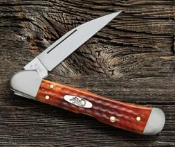 CASE XX 7397 COPPERLOCK POCKET KNIFE POCKET WORN HARVEST ORA