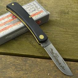 Case XX Black Synthetic Handle Sod Buster Jr Folding Pocket