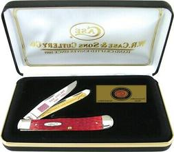 Case XX Commemorative C.S.A Trapper Pocket Knife Stainless B