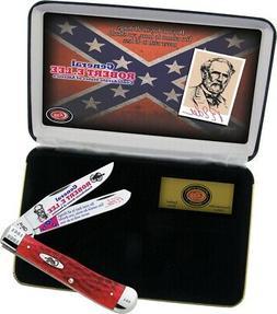 Case XX General Robert E Lee Trapper Pocket Knife Stainless